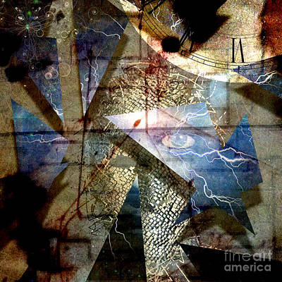 Surrealism Royalty-Free and Rights-Managed Images - The shards of reality by Bruce Rolff