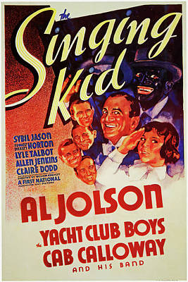 Royalty-Free and Rights-Managed Images - The Singing Kid, with Al Jolson, 1936 by Stars on Art