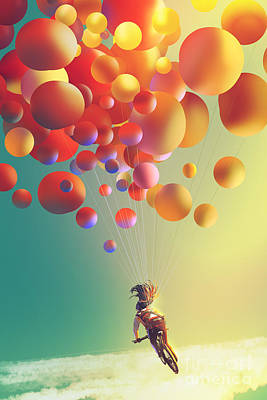 Mellow Yellow - The Sky Traveller by Tithi Luadthong