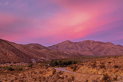 Royalty-Free and Rights-Managed Images - The Soft Colorful Desert by Peter Tellone