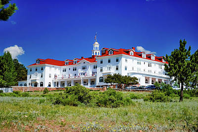 Royalty-Free and Rights-Managed Images - The Stanley Hotel in Estes Park Colorado by Gregory Ballos