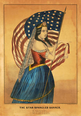 Spot Of Tea Royalty Free Images - The Star Spangled Banner Royalty-Free Image by David Hinds