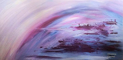 Painting - The Storm Is Over by Christine Cloutier