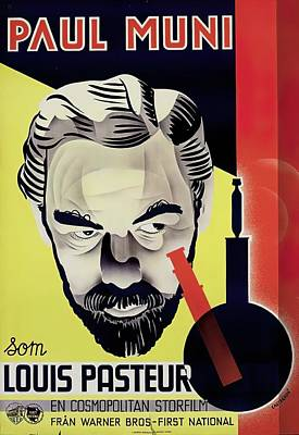 Royalty-Free and Rights-Managed Images - The Story of Louis Pasteur, with Paul Muni, 1936 by Stars on Art
