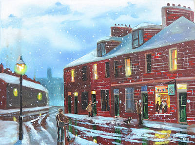 Painting - The Sweet Shop by Gordon Bruce