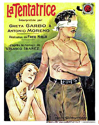 Royalty-Free and Rights-Managed Images - The Temptress movie poster 1926  by Stars on Art