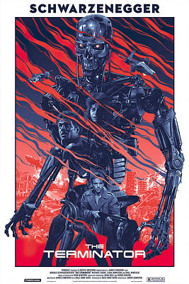 Royalty-Free and Rights-Managed Images - The Terminator, 1984 by Stars on Art