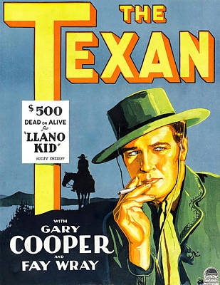 Royalty-Free and Rights-Managed Images - The Texan, 1930 by Stars on Art