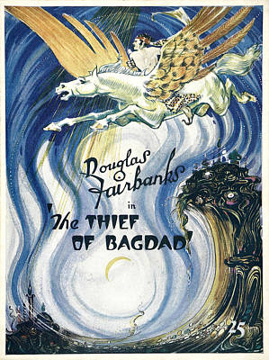 Royalty-Free and Rights-Managed Images - The Thief of Bagdad, 1924 by Stars on Art