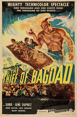 Sheep - The Thief of Bagdad 1947 by Stars on Art