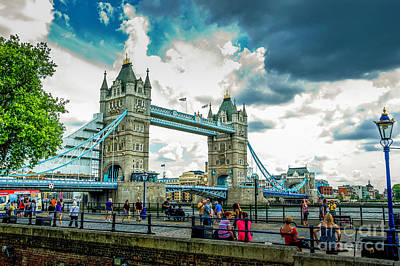 Vine Ripened Tomatoes - The Tower Bridge 2 by Micah May