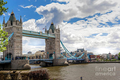 Minimalist Movie Quotes - The Tower bridge 3 by Micah May