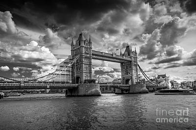 Shark Art - The Tower bridge 4 by Micah May