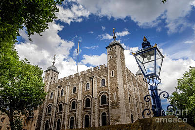 Shark Art - The Tower of London 1 by Micah May