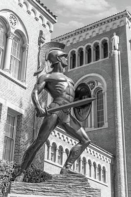 Lake Life - The Trojan Statue at USC by John McGraw