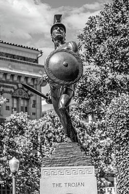 Lake Life - The Trojan Statue USC looking at you  by John McGraw