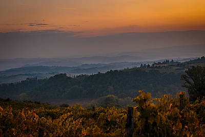 Photograph - The tuscan winery by Isabella Biava