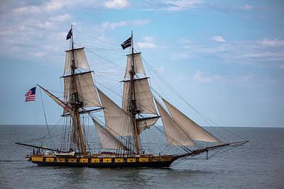 Antlers - The U. S. Brig Niagara Tall Ship by Dale Kincaid