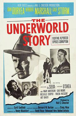 Travel - The Underworld Story, with Dan Duryea, 1950 by Stars on Art