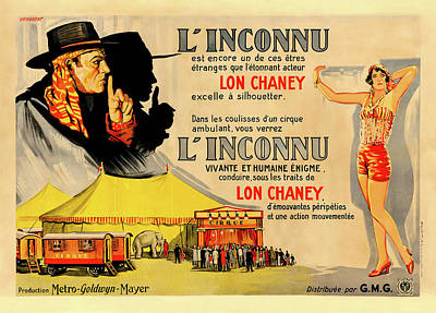 Royalty-Free and Rights-Managed Images - The Unknown, with Lon Chaney, 1927 by Stars on Art