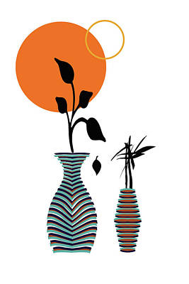 Moody Trees - The Vases by Shivonne Ross