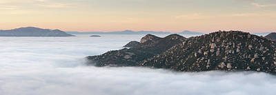 Photograph - The View from Mount Woodson by William Dunigan