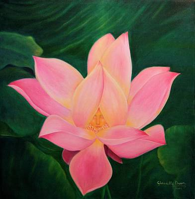 Painting - The Violet Flame by Claudette Dean