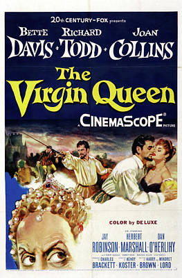 Moody Trees - The Virgin Queen 2, with Bette Davis and Richard Todd, 1955 by Stars on Art