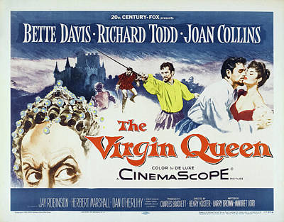 Travel - The Virgin Queen, with Bette Davis and Richard Todd, 1955 by Stars on Art