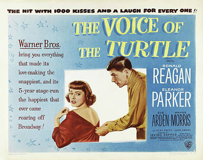 Travel - The Voice of the Turtle, with Ronald Reagan and Eleanor Parker, 1947 by Stars on Art