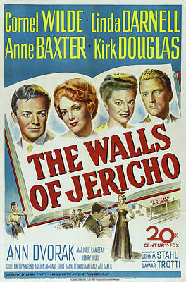 Royalty-Free and Rights-Managed Images - The Walls of Jericho, with Cornel Wilde and Linda Darnell, 1948 by Stars on Art