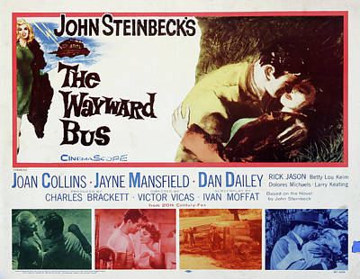 Kim Fearheiley Photography - The Wayward Bus, with Joan Collins, 1957 by Stars on Art