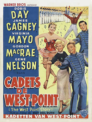 Royalty-Free and Rights-Managed Images - The West Point Story, with Doris Day and James Cagney, 1950 by Stars on Art