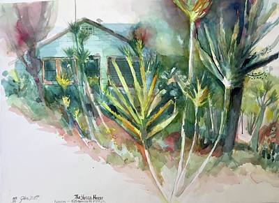 Painting - The Yucca House  by Glen Neff