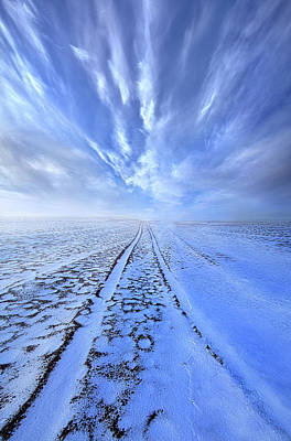 Royalty-Free and Rights-Managed Images - There are no Dead Ends in Lifes Journey by Phil Koch