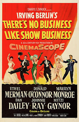 Royalty-Free and Rights-Managed Images - Theres No Business Like Show Business 1954 by Stars on Art