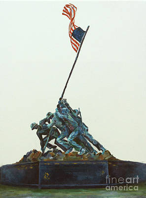 Painting - They Stood for Us by Elizabeth Roskam
