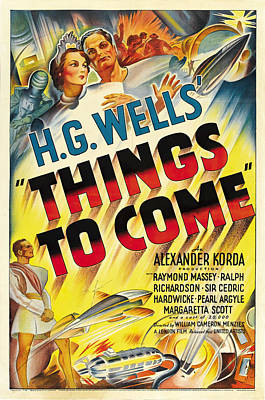 Royalty-Free and Rights-Managed Images - Things to Come, from H.G. Wells, 1936 by Stars on Art