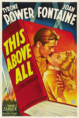 Royalty-Free and Rights-Managed Images - This Above All with Tyrone Power, 1942 by Stars on Art