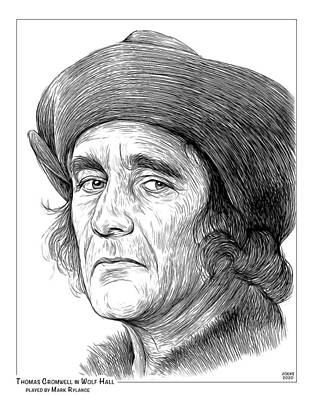 Curated Round Beach Towels - Thomas Cromwell by Greg Joens