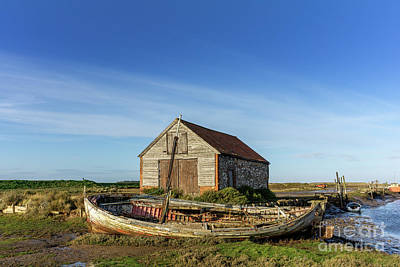 Royalty-Free and Rights-Managed Images - Thornham Staithe, Norfolk, England by John Edwards