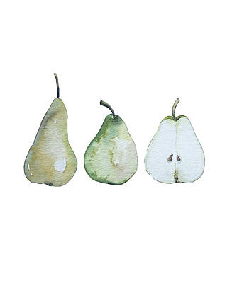 Landscape Photos Chad Dutson - Three pears standing by Luisa Millicent