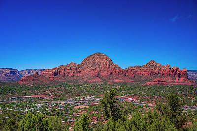 Landscapes Royalty-Free and Rights-Managed Images - Thunder Mountain Sedoa Arizona by Jeremy Rickman