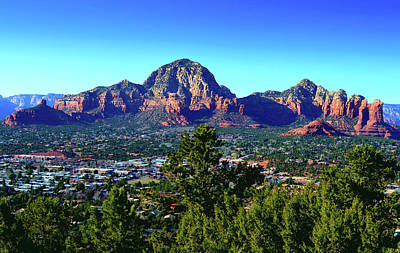 Pittsburgh According To Ron Magnes - Thunder Mountain, Sedona by Glenn McCarthy Art and Photography
