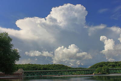Olympic Sports - Thunderstorm over Connecticut River by John Burk