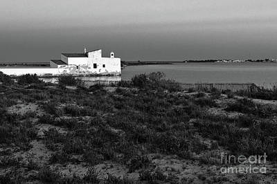 Photograph - Tidal Mill at Dusk in Quinta do Marim by Angelo DeVal