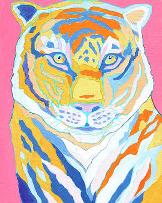 Animals Paintings - Tiger III by Jennifer Lommers