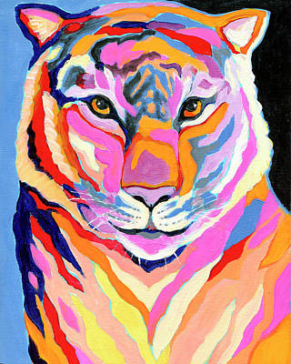 Royalty-Free and Rights-Managed Images - Tiger I by Jennifer Lommers
