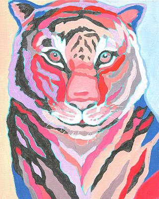Royalty-Free and Rights-Managed Images - Tiger IV by Jennifer Lommers