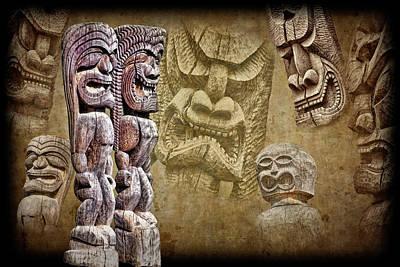 Photograph - Tiki Gods by Kelley King